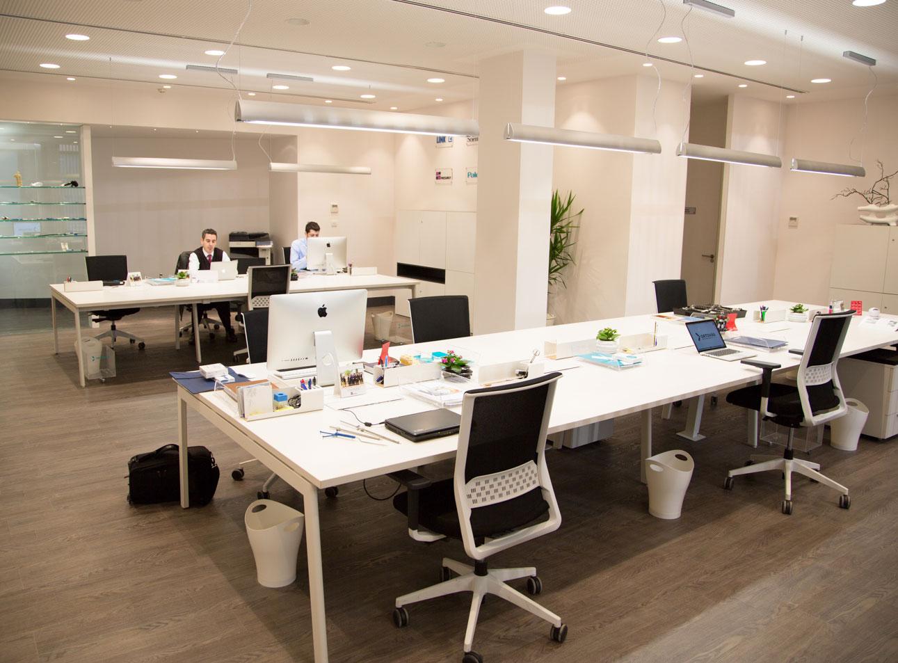 Las oficinas e instalaciones de ortov s m dica for Red de una oficina